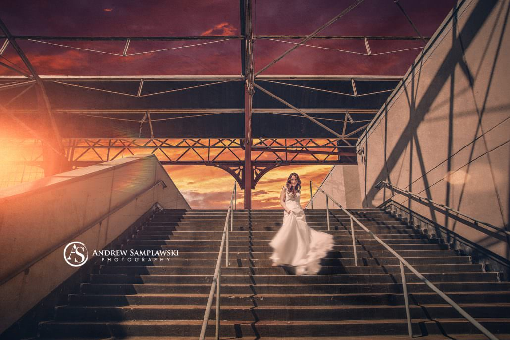 bride_sunset_wisconsinphotographer