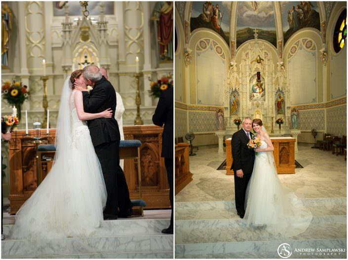 Saints Peter and Paul Catholic Church Independence Wedding Andrew Samplawski Photography
