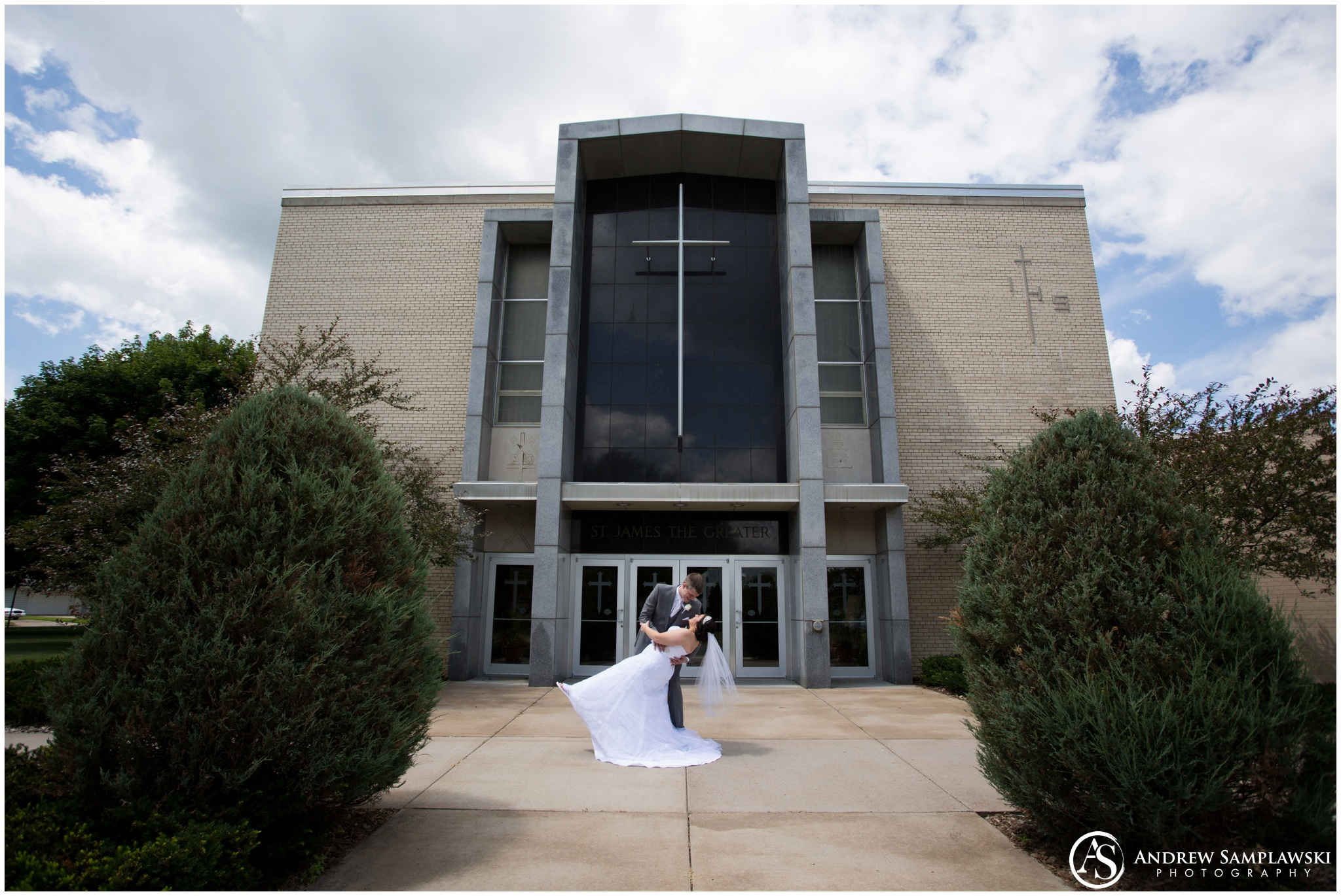St James Catholic Church Chippewa Falls Wedding Andrew Samplawski Photography