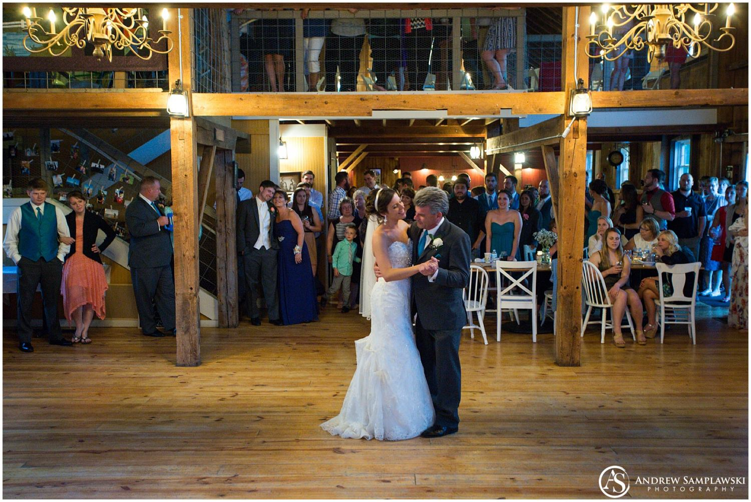 The Barn Harvest Moon Wisconsin Wedding Andrew Samplawski Photography
