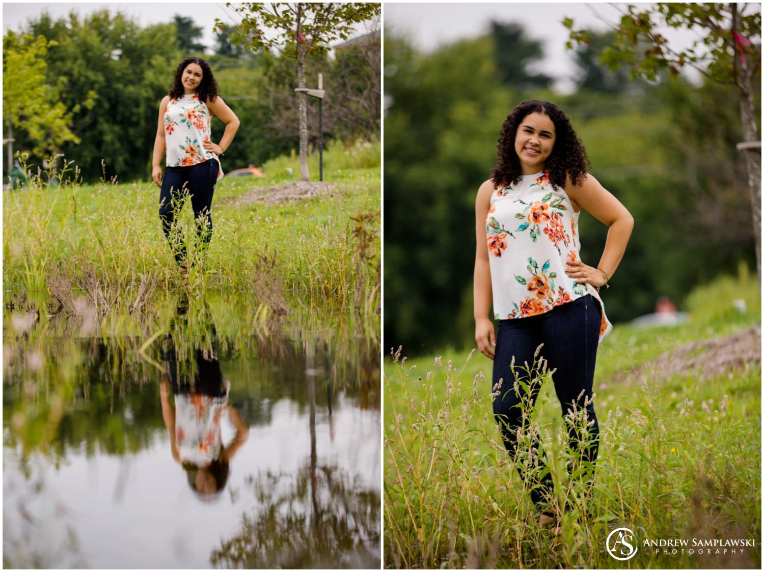 Chippewa Falls senior session andew samplawski