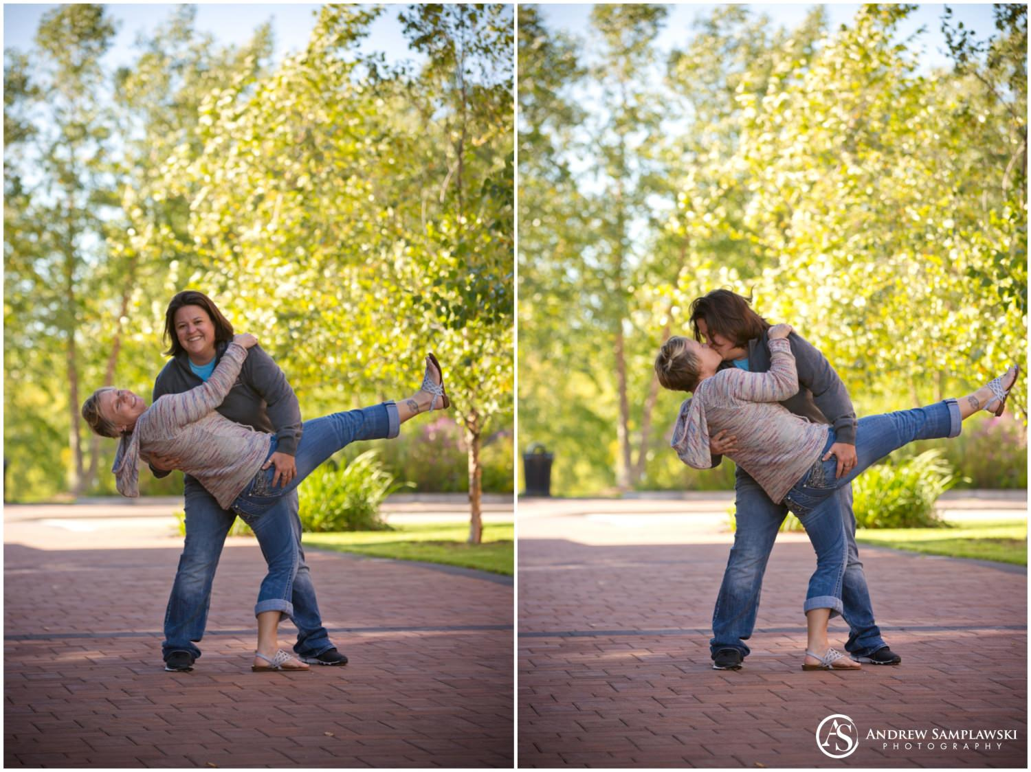 eau claire engagement session andrew samplawski photography