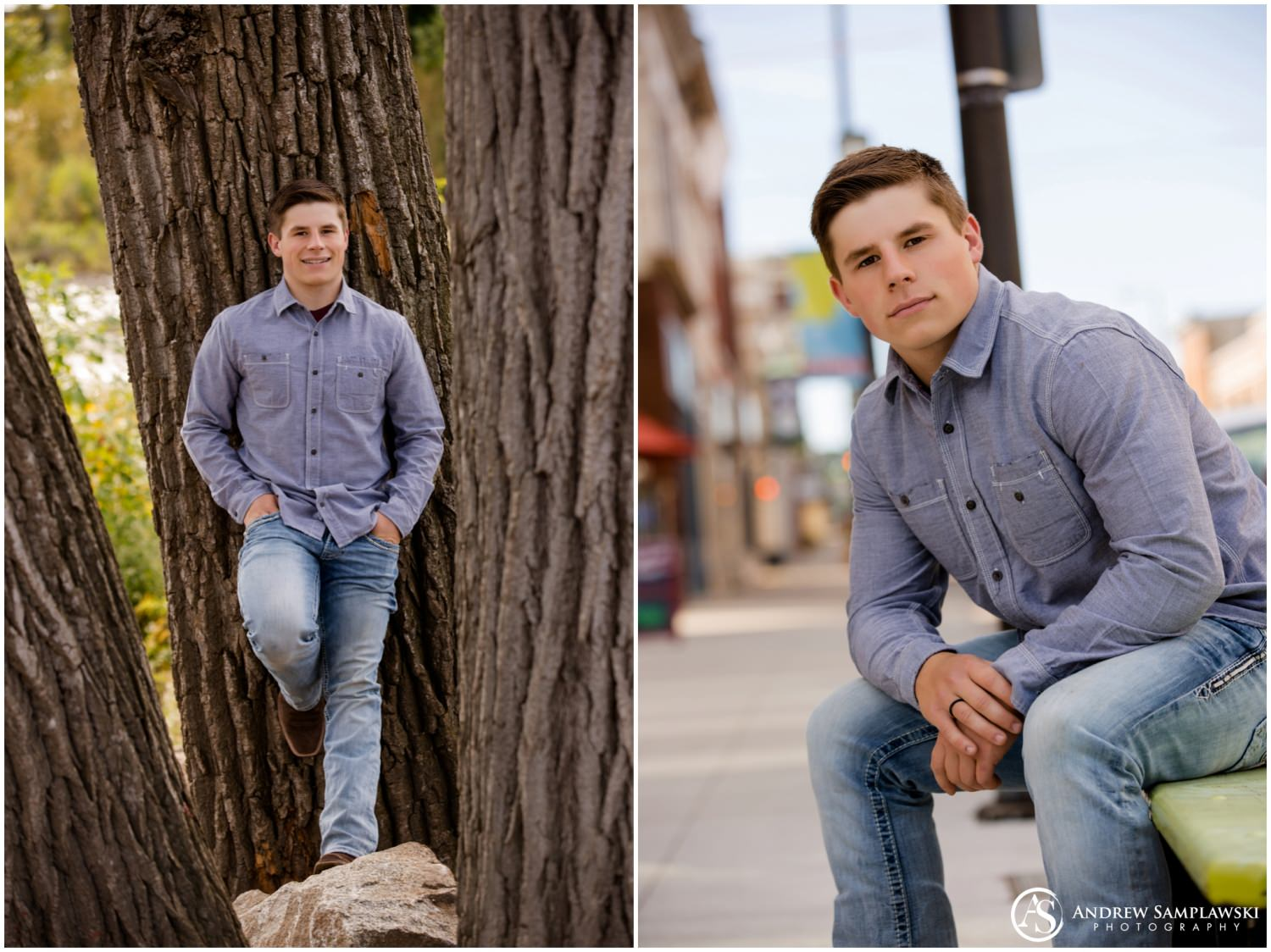 Chippewa Falls senior portraits andrew samplawski photography