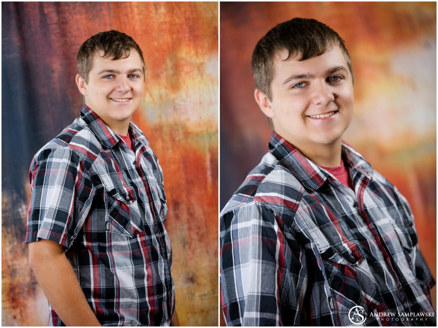 north high school senior portraits andrew samplawski photography