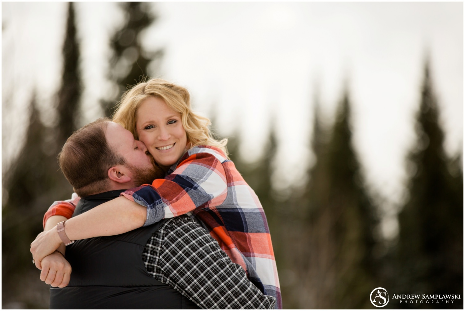 Two Harbors engagement andrew samplawski photography