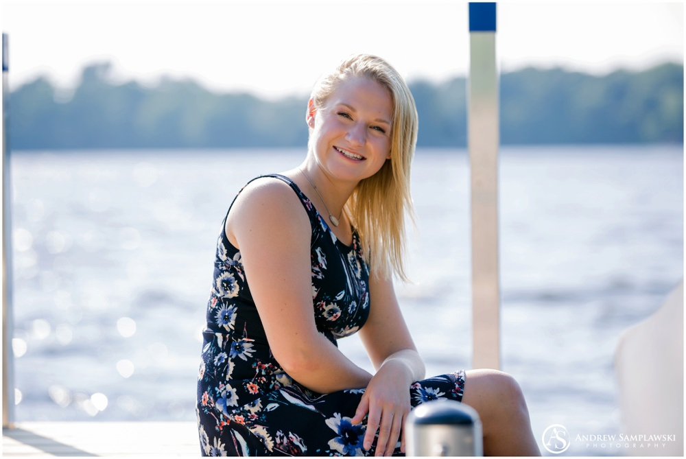 Lake Wissota Senior Session Andrew Samplawski Photography