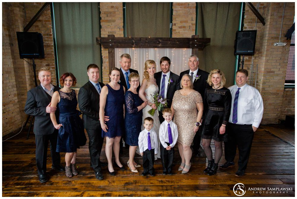 Clyde Ironworks Wedding Andrew Samplawski Photography