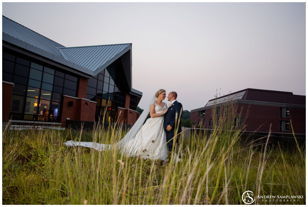 UW Eau Claire Davies Center Wedding Andrew Samplawski Photography