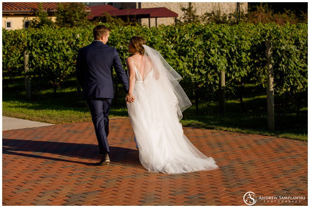 Villa Bellezza Winery Wedding Andrew Samplawski Photography